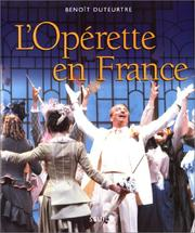 Cover of: L' opérette en France