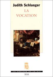 Cover of: La vocation