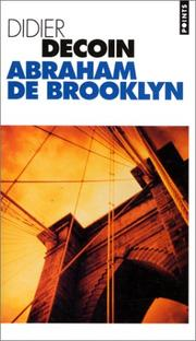 Cover of: Abraham de Brooklyn