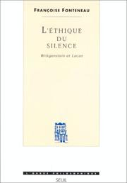 Cover of: L' éthique du silence