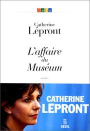 Cover of: L' affaire du Muséum