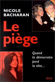 Cover of: Le piege