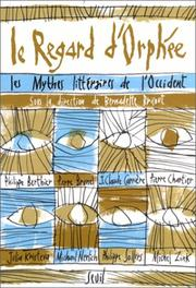 Cover of: Le regard d'Orphée