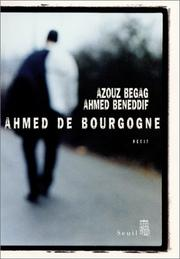Cover of: Ahmed de Bourgogne