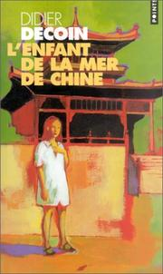 Cover of: L'Enfant de la mer de Chine