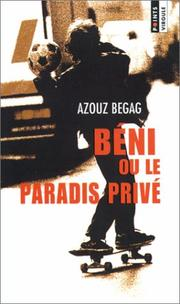 Cover of: Beni Ou Le Paradis Prive