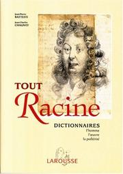 Cover of: Tout Racine