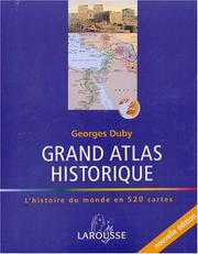 Cover of: Grand Atlas historique