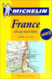 Cover of: Michelin France Mini-Spiral Atlas No. 95, 4e |