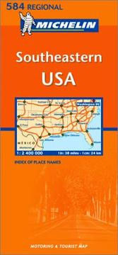 Cover of: Michelin Southeastern USA | Michelin Travel Publications