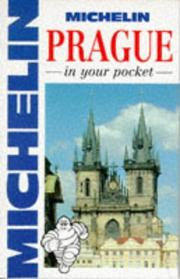 Cover of: Michelin Prague In Your Pocket | Michelin Travel Publications