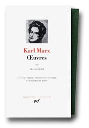 Cover of: Euvres | Karl Marx