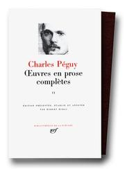 Cover of: Péguy