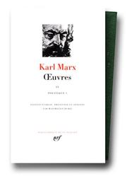 Cover of: Marx : Oeuvres, tome 4: politique