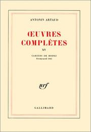 Cover of: Oeuvres complètes, tome 15