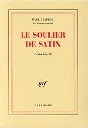 Cover of: Le soulier de satin