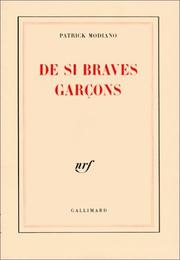 Cover of: De si braves garçons