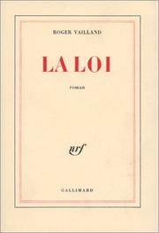 Cover of: La Loi