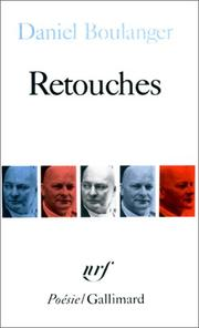 Cover of: Retouches
