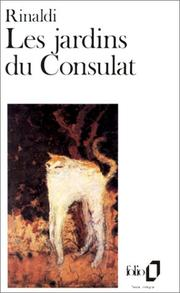 Cover of: Jardins Du Consulat, Les