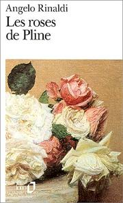 Cover of: Les roses de Pline