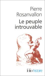 Cover of: Le peuple introuvable