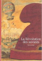 Cover of: La Révolution des savants