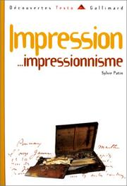 Cover of: Impression-- impressionnisme