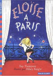 Cover of: Eloise a Paris/Eloise in Paris