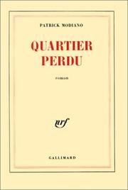 Cover of: Quartier perdu