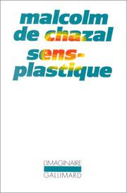 Cover of: Sens-plastique