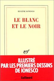 Cover of: Le blanc et le noir