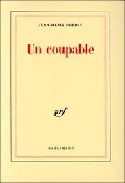 Cover of: Un coupable