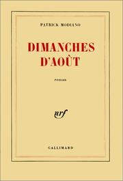 Cover of: Dimanches d'août