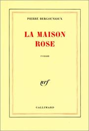Cover of: La maison rose