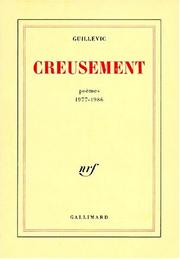 Cover of: Creusement