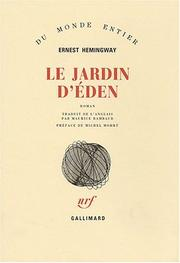 Cover of: Le jardin d'Eden