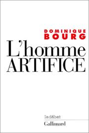 Cover of: L' homme artifice