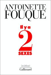 Cover of: Il y a deux sexes