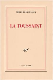 Cover of: La Toussaint