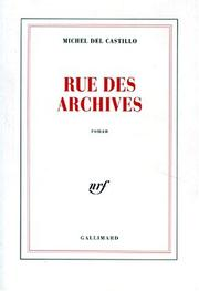 Cover of: Rue des Archives