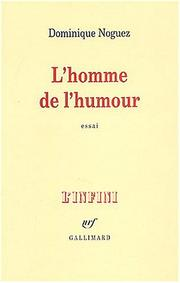 Cover of: L' homme de l'humour