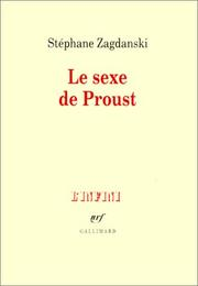 Cover of: Le sexe de Proust