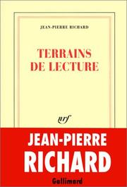 Cover of: Terrains de lecture