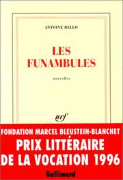 Cover of: Les funambules