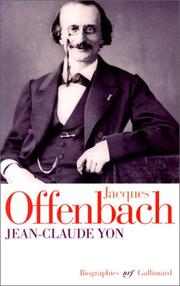 Cover of: Jacques Offenbach