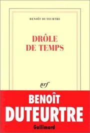 Cover of: Drôle de temps