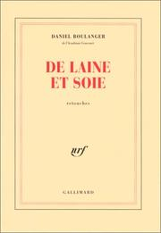 Cover of: De laine et soie: retouches