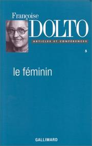 Cover of: Le féminin