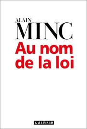 Cover of: Au nom de la loi